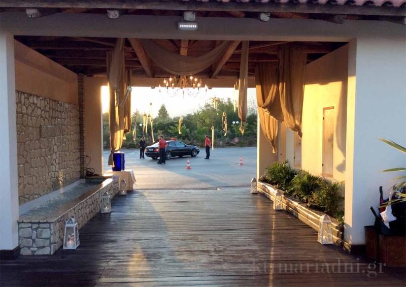 Το κτήμα Αριάδνη παρέχει ασφαλές parking στους καλεσμένους
