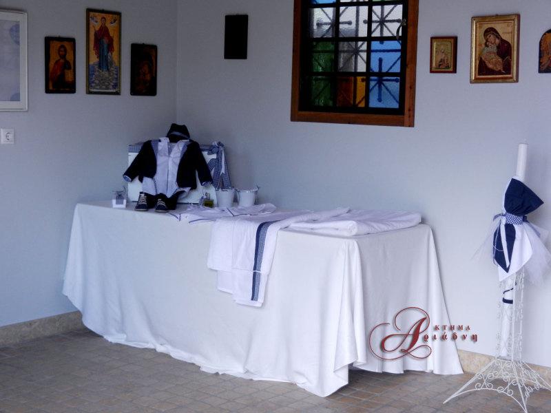 βαπτιστικά ρούχα