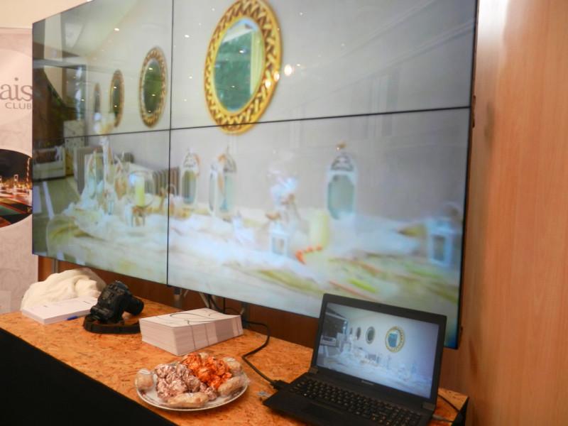 Το περίπτερο του κτήματος Αριάδνη στην έκθεση γάμου στο Ζάππειο Μέγαρο