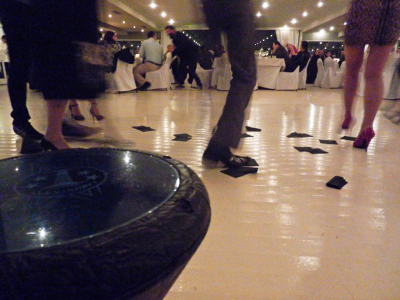 Εννοείται πως χορέψαμε κιόλας... το τουμπερλέκι, ειδικά αν είναι live, πάντα ξεσηκώνει