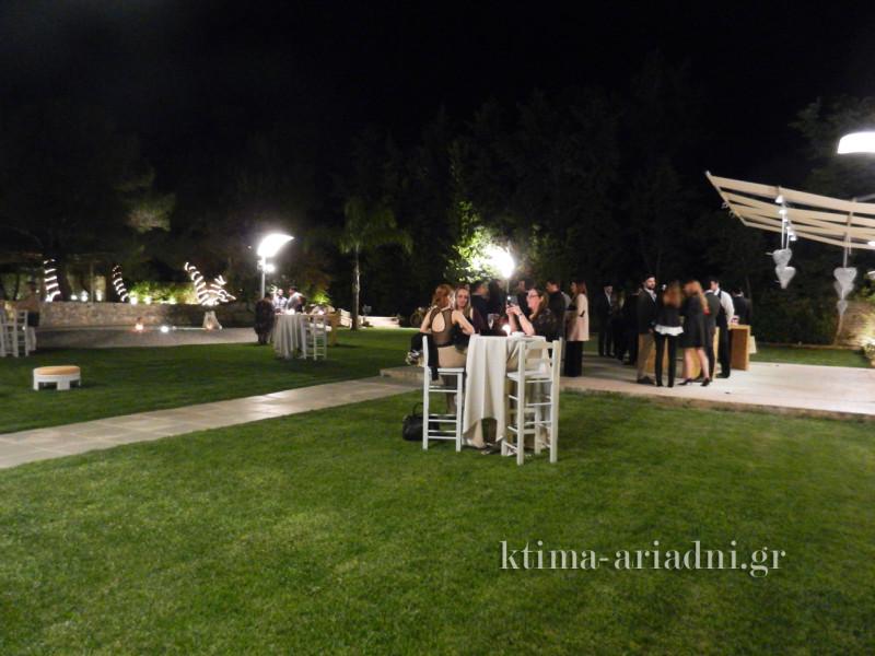 Την ημέρα του γάμου είχε μια υπέροχη ανοιξιάτικη βραδιά