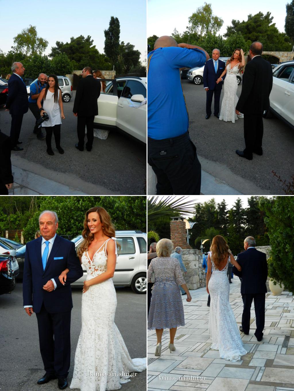 Στην άφιξη της νύφης, η συγκίνηση είναι μεγάλη. Όλοι είναι επί ποδός για να την βοηθήσουν και να την καθοδηγήσουν για την εντυπωσιακή της είσοδο