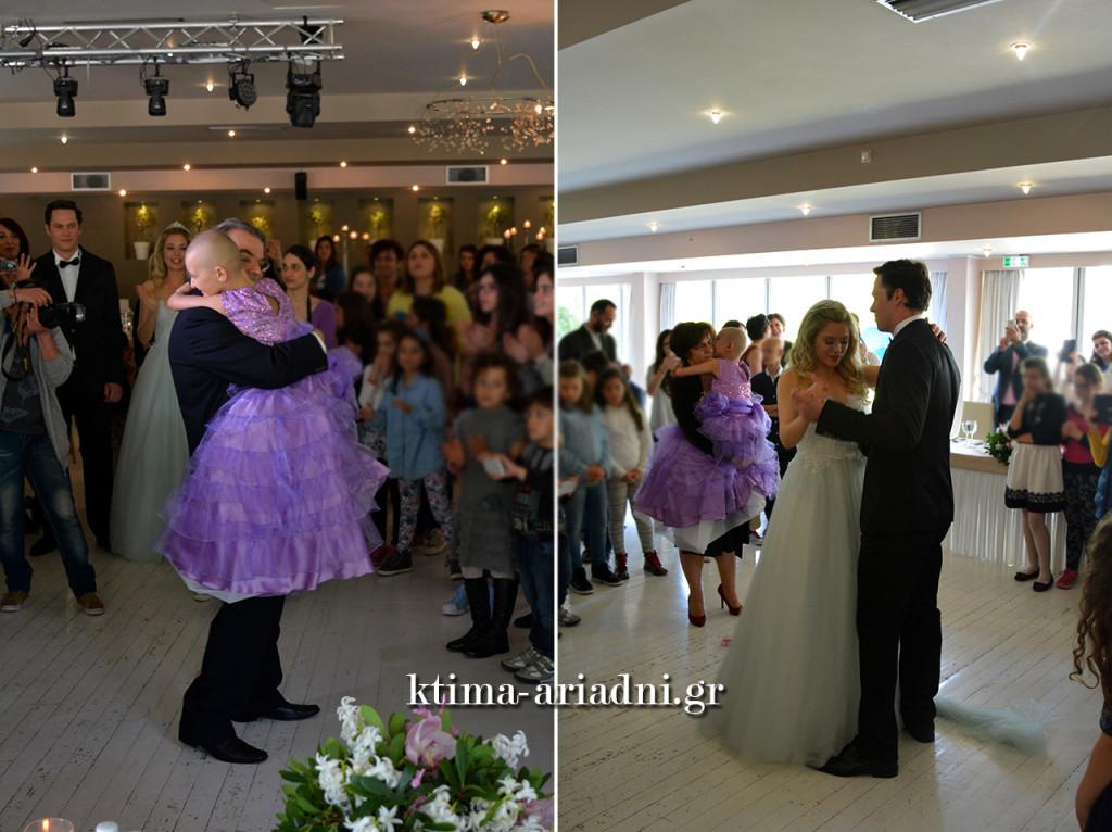 Η Σπυριδούλα, μικρή πριγκίπισσα με ένα παραμυθένιο μωβ φόρεμα, χόρεψε σκορπώντας δύναμη και ελπίδα σε όλους!