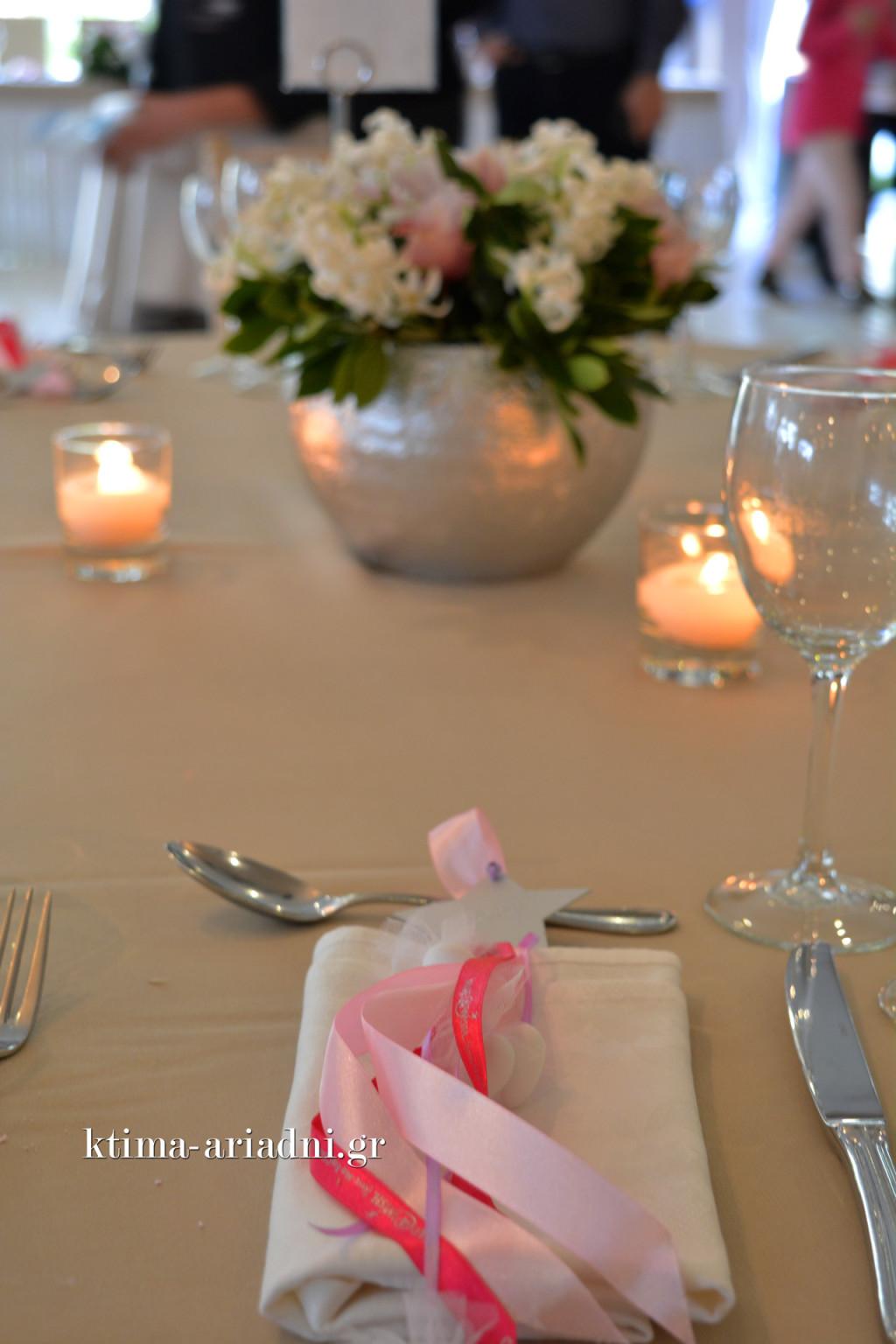 Μπομπονιέρες γάμου κρεμαστές με το αστέρι της ευχής από το Make a Wish
