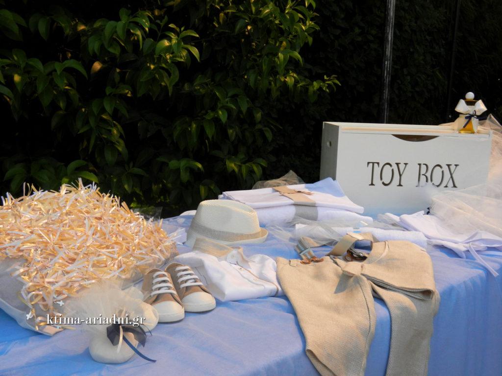 Τα πάντα ήταν έτοιμα στην ώρα τους και για τον γάμο, καθώς και για την βάπτιση που ακολούθησε.