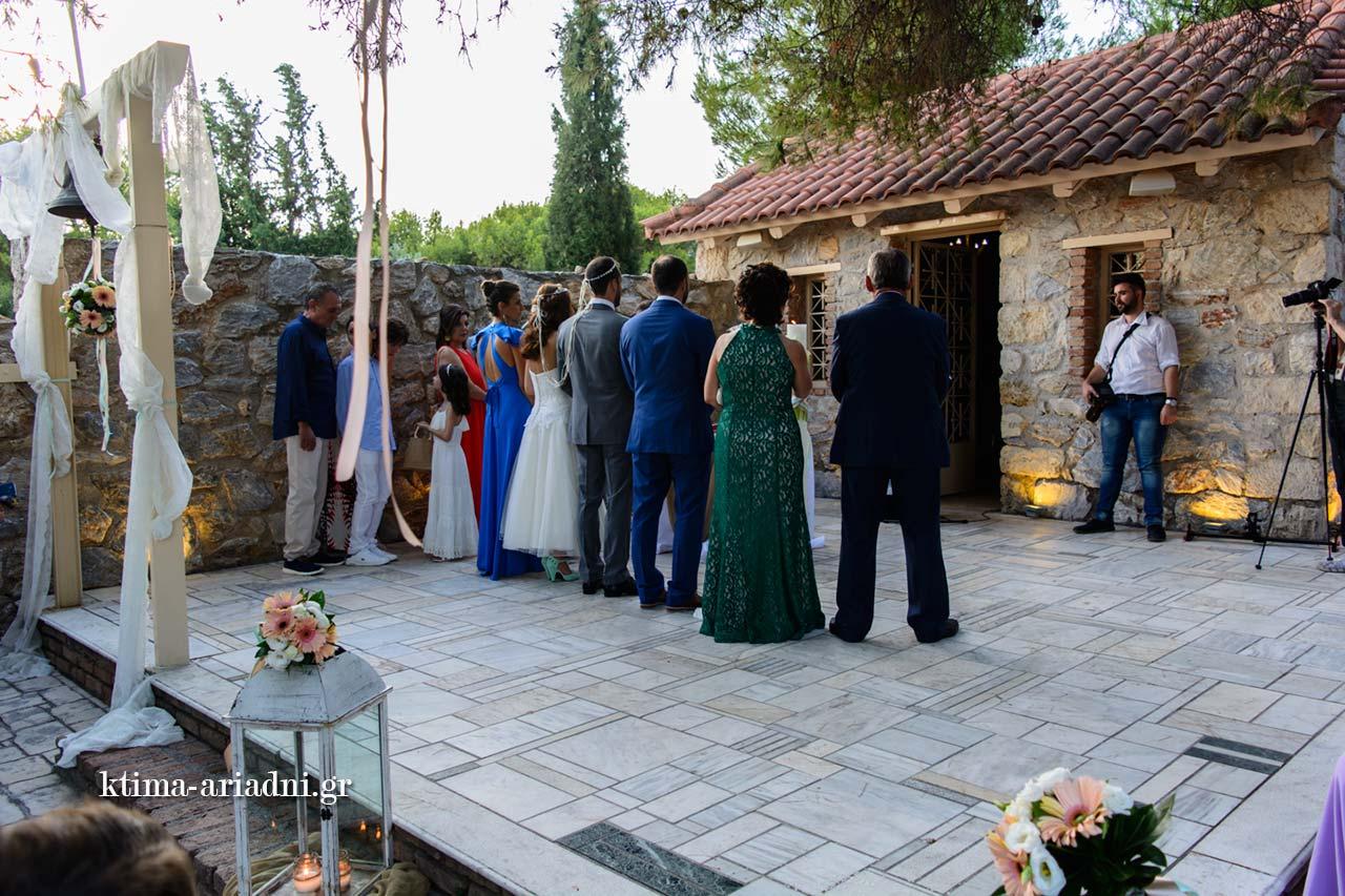 μυστήριο γάμου στο εκκλησάκι dexiosi gamou menta linatsa ktima ariadni