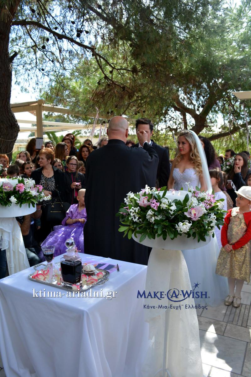 Ο γάμος της Barbie και του Ken στο κτήμα Αριάδνη για το Make a Wish Ελλάδος