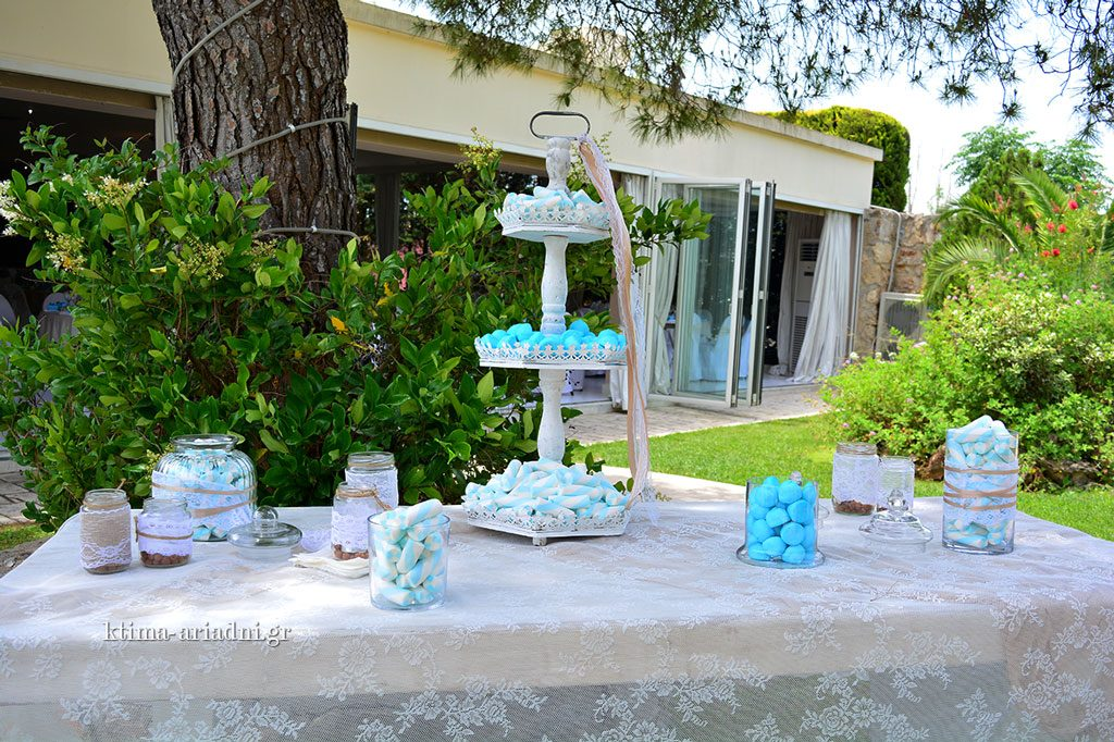 candy bar table wishes