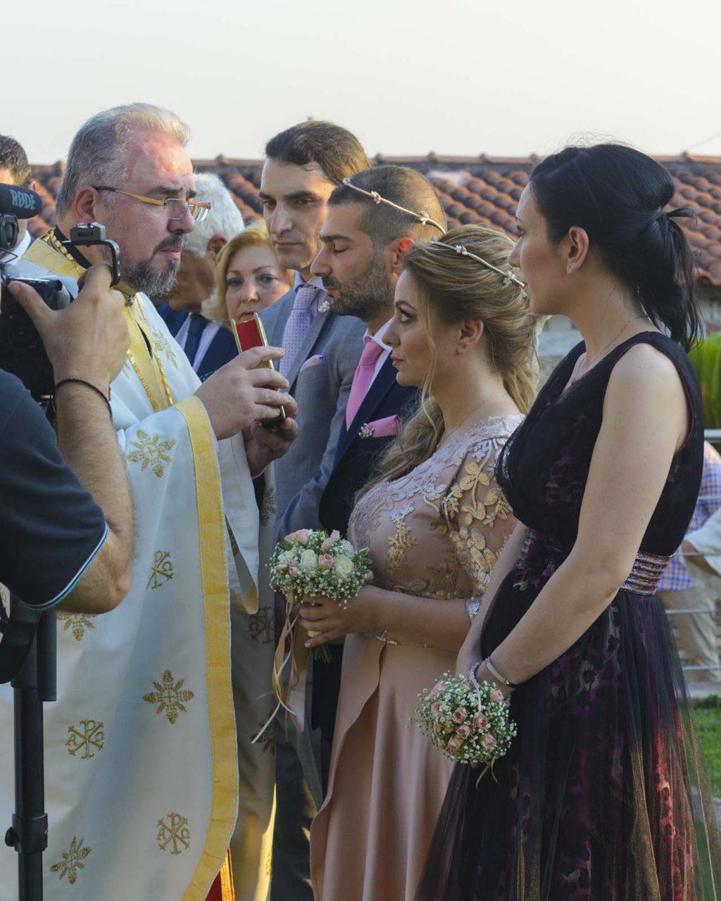 Στιγμιότυπα από τον γάμο στο Βήμα Παντοκράτορος