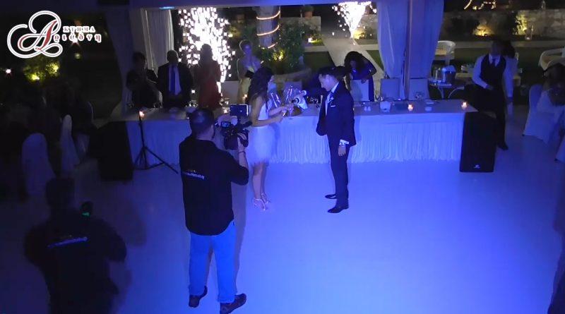 είσοδος ζευγαριού bachata και μίνι πάρτυ
