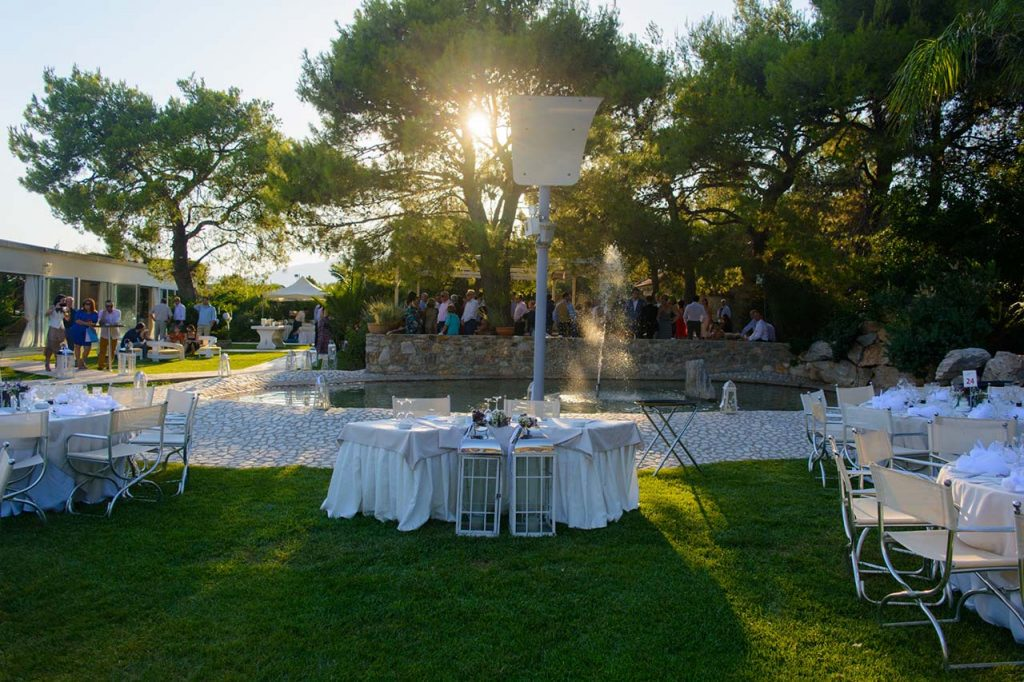 Γενική άποψη του χώρου Φαιστός πριν την άφιξη της νύφης