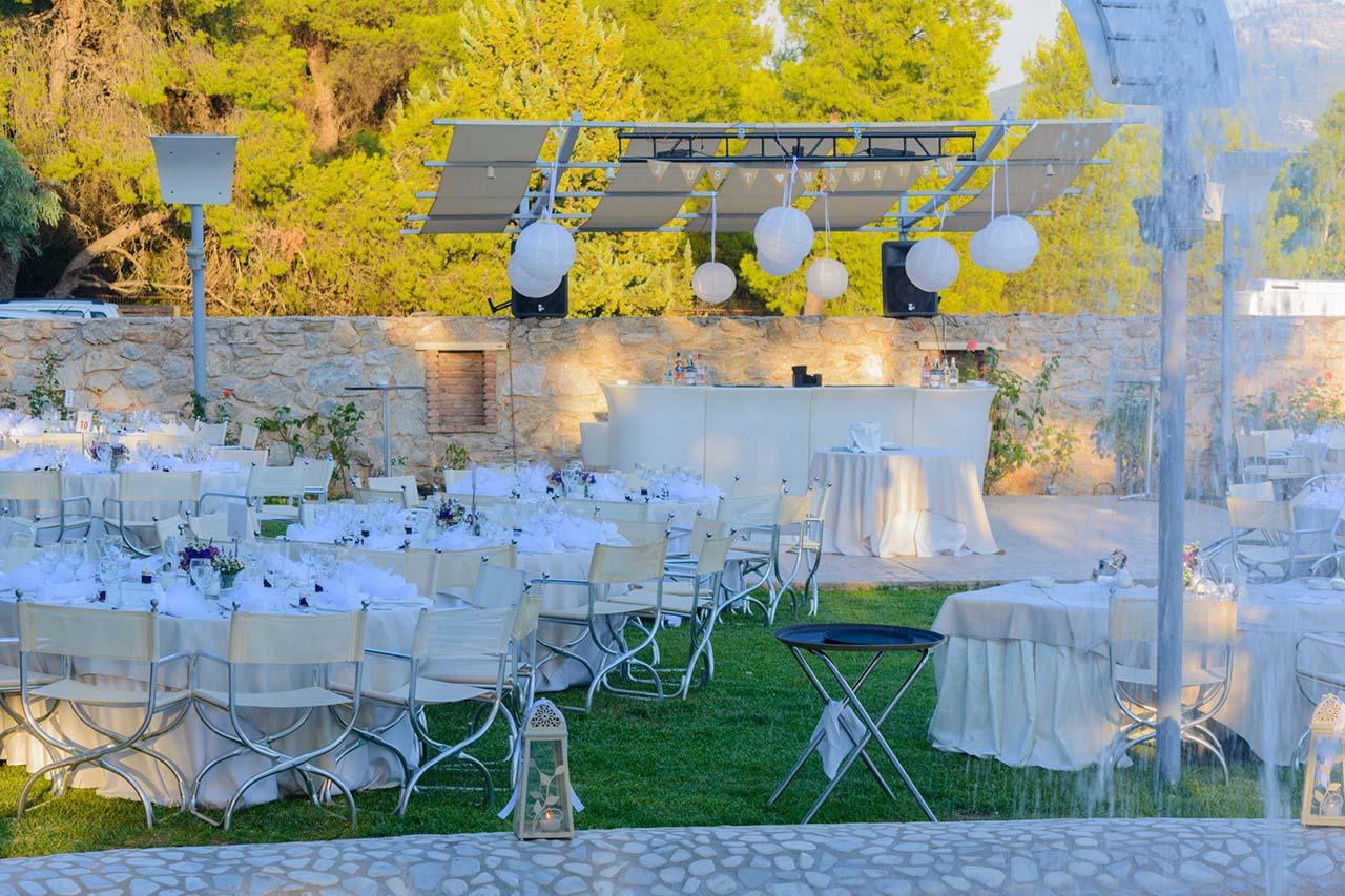 Πολιτικός γάμος και γαμήλιο πάρτυ με Bar πάνω στην πίστα