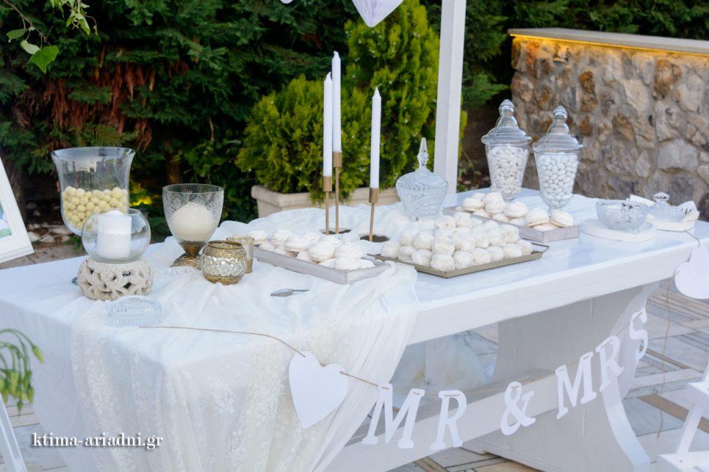 golden chic wedding στο Κτήμα Αριάδνη ktima ariadni