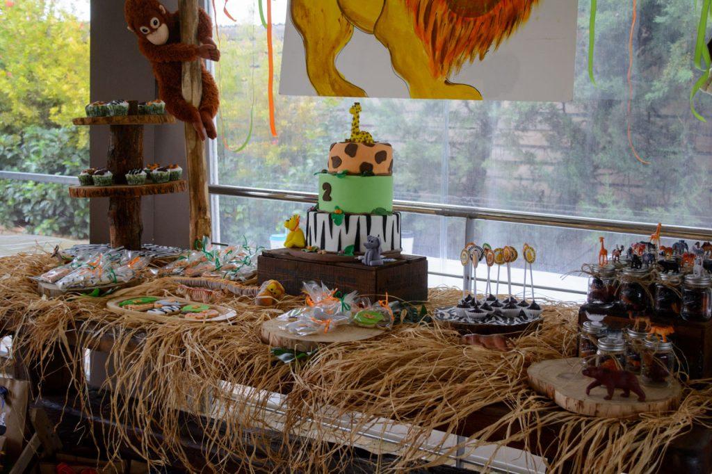 παιδικό πάρτυ γενεθλίων με θέμα ζώα της ζούγκλας paidiko party wild animals jungle