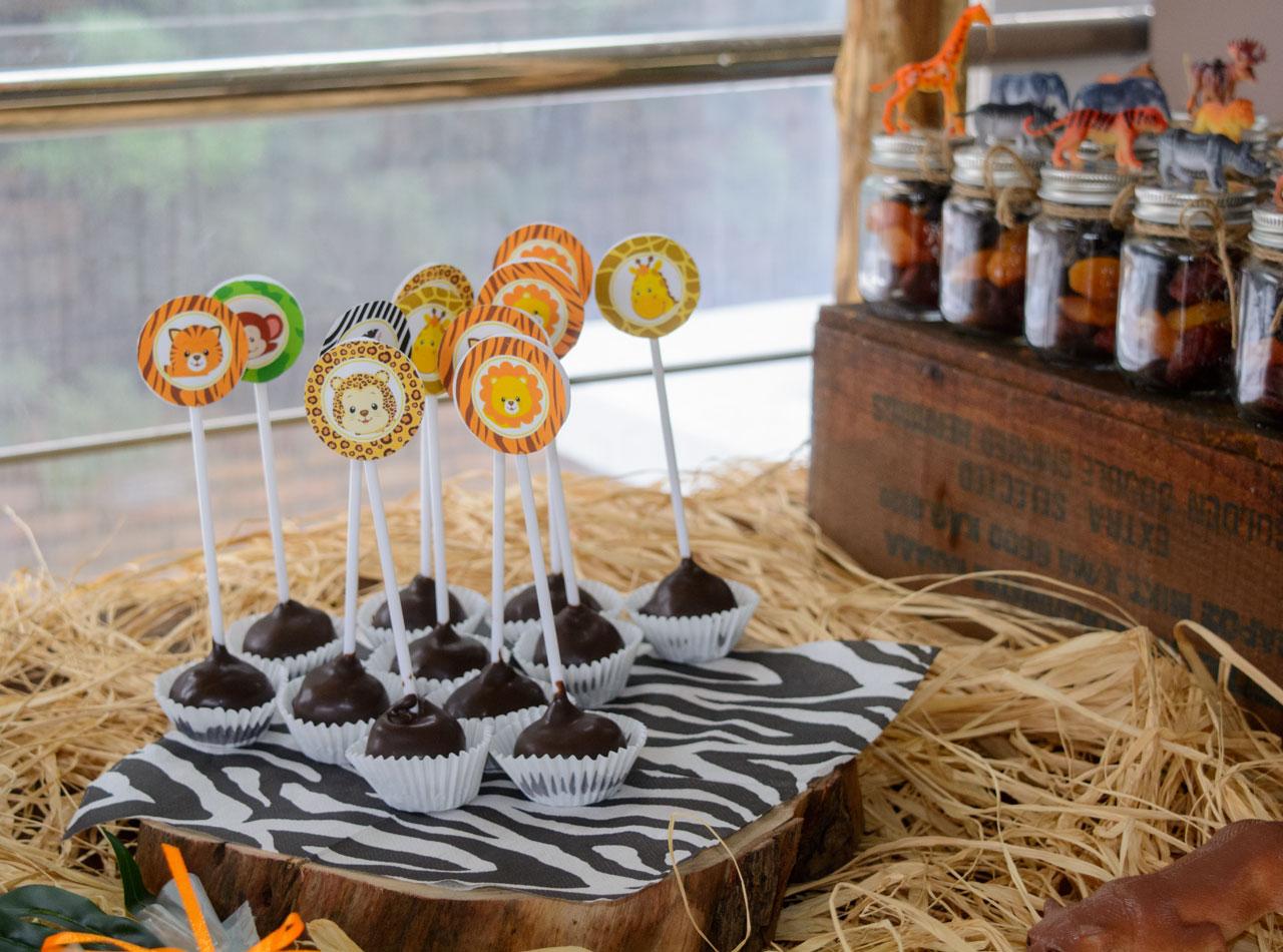 cake pops με λαχταριστή σοκολάτα