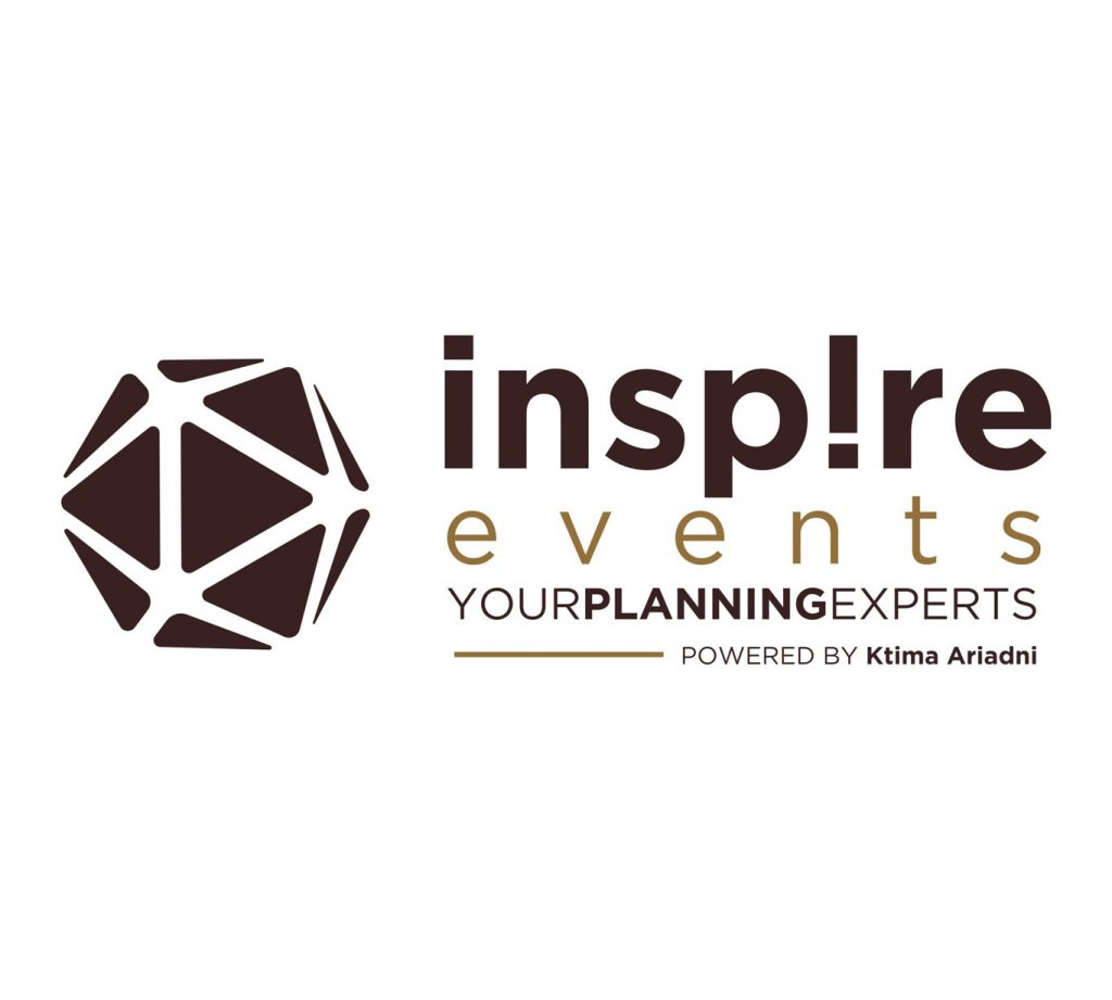 λογότυπο Inspire events by ktima ariadni