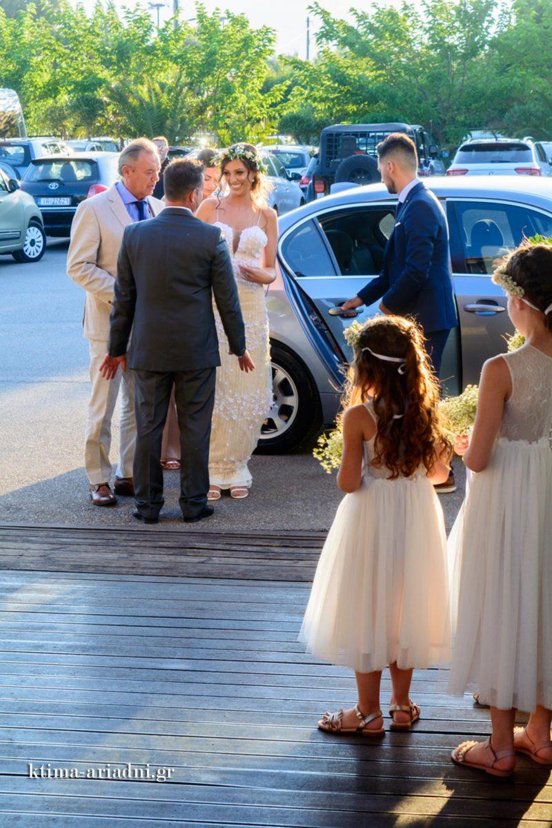 Η άφιξη της νύφης