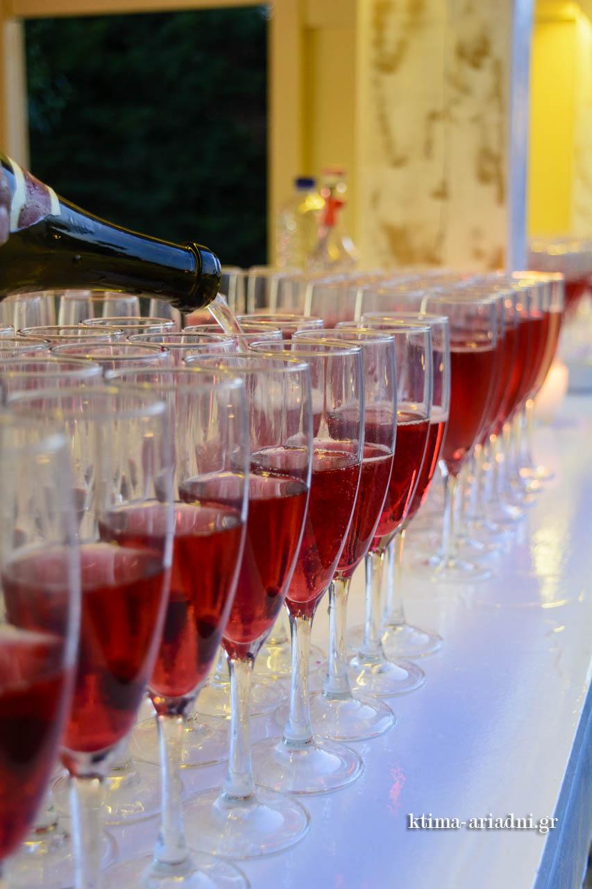 Ποτά καλωσορίσματος welcome drinks