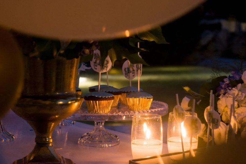 Διακόσμηση τραπέζι ευχών και candy bar