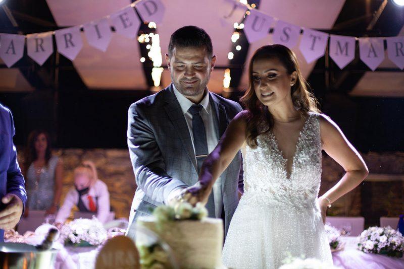 Δεξίωση γάμου και βάπτιση στο κτήμα Αριάδνη