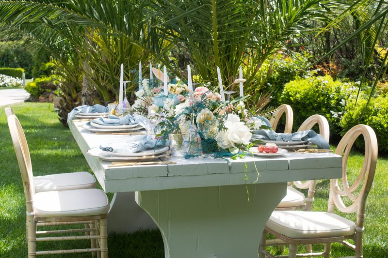 Pastels for romantic weddings
